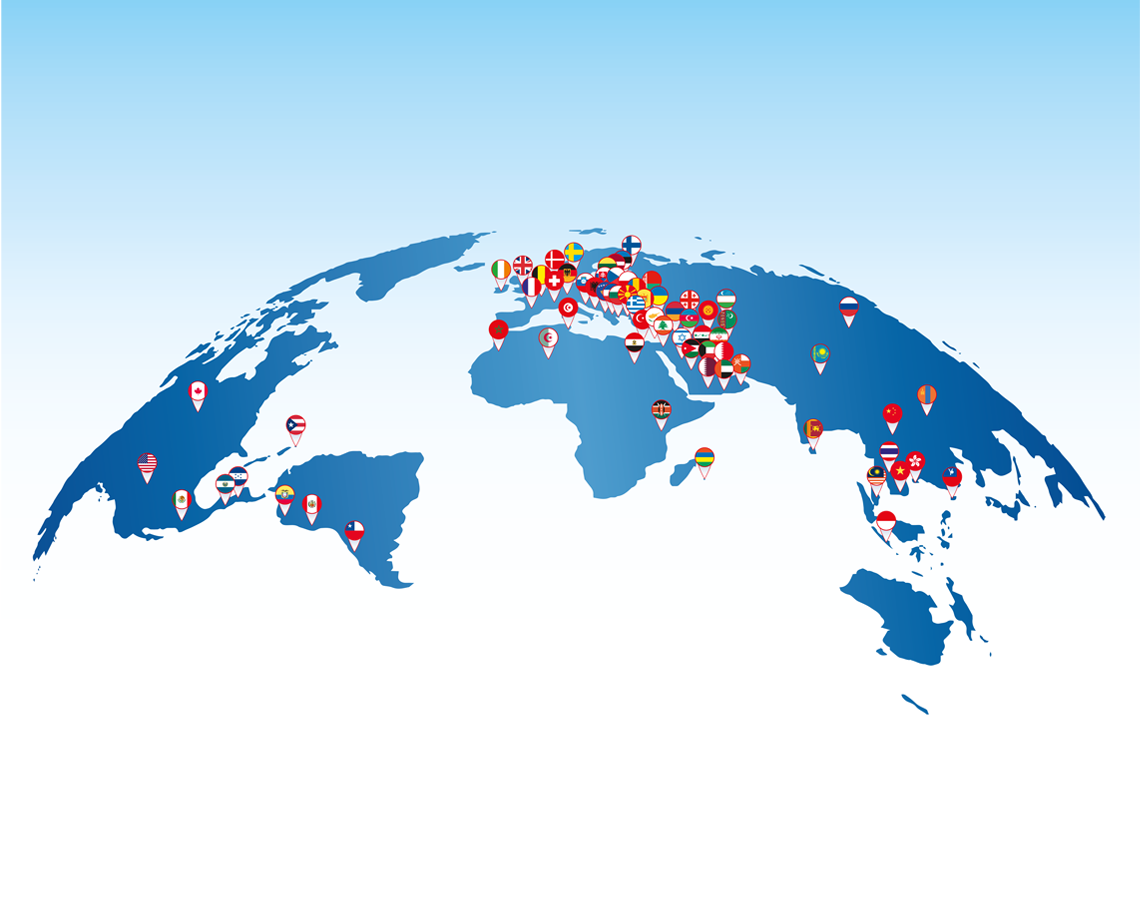Map distributions