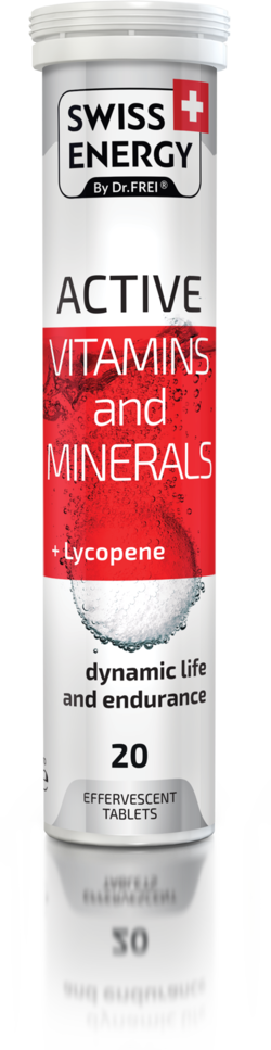 ACTIVE Vitamins and minerals + Lycopene