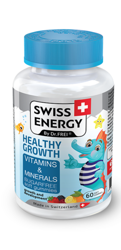 HEALTHY GROWTH Vitamins and Minerals Sugar-free soft gummies