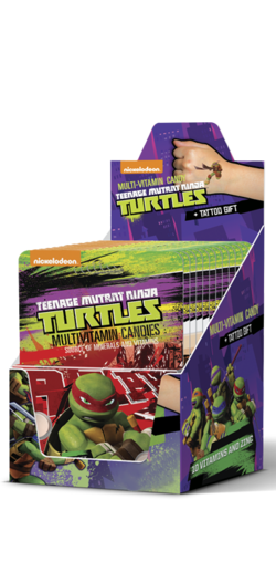 TURTLES 10 Vitamins and Zinc Dextrose tablets
