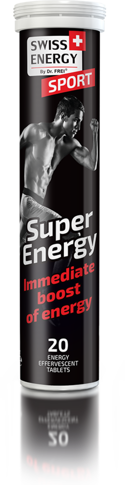 SUPER ENERGY Taurine, Caffeine, Guarana