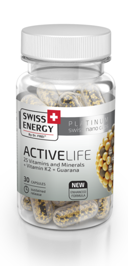 ACTIVELIFE 25 Vitamins and Minerals + Vitamin K2 + Guarana