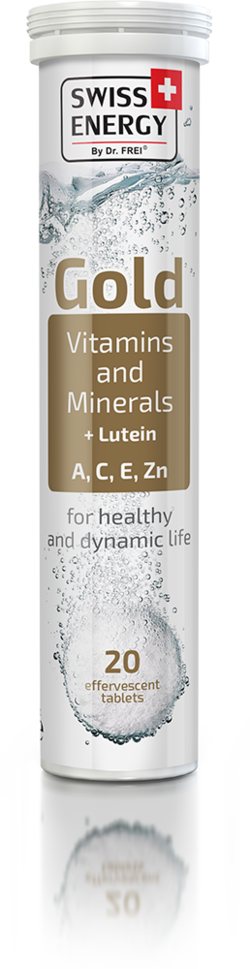 GOLD Vitamins and Minerals + Lutein