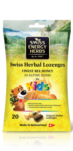 20 HERBS + HONEY for Kids