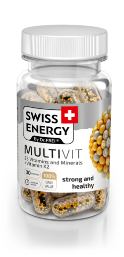 MULTIVIT 25 Vitamins and Minerals + Vitamin K2