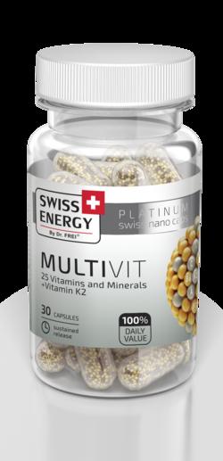 MULTIVIT 25 Vitamins and Minerals + Vitamin K2