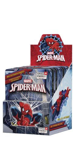 SPIDER-MAN 10 Vitamins and Zinc Dextrose tablets