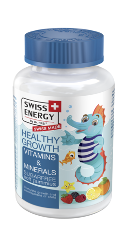 HEALTHY GROWTH Vitamins and Minerals Sugar-free soft gummies