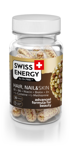 HAIR, NAIL & SKIN B1 + B6 + Niacin + Biotin + Zn + L-Cysteine + L-Methionine