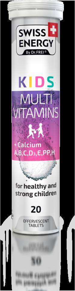 KIDS Multivitamins + Calcium