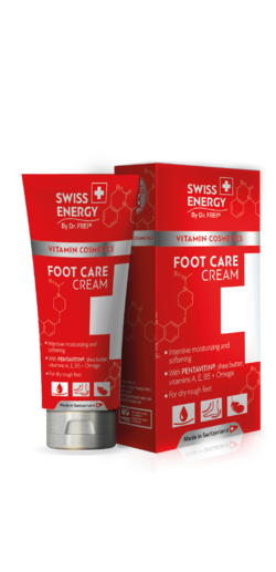 FOOT CARE CREAM Sodium PCA + Pentavitin® + Bisabolol + 7 alpine herbs + 7 essential oils + Vitamin E