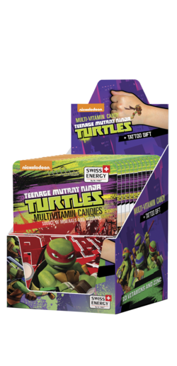 TURTLES 10 Vitamins and Zinc Dextrose tablets
