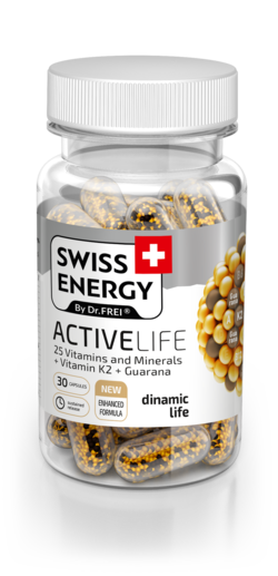 ACTIVELIFE 25 Vitamins and Minerals + Vitamin K2 + Guarana