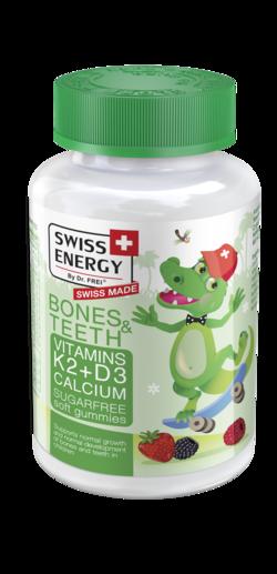 BONES & TEETH Vitamin K2 + Vitamin D3 + Calcium
