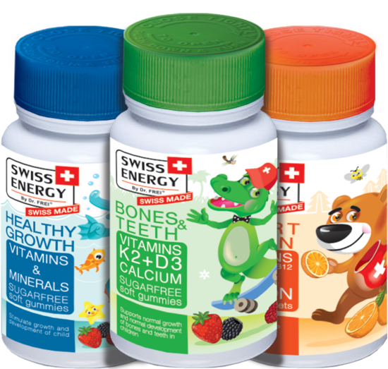 Energy supplements for kids
