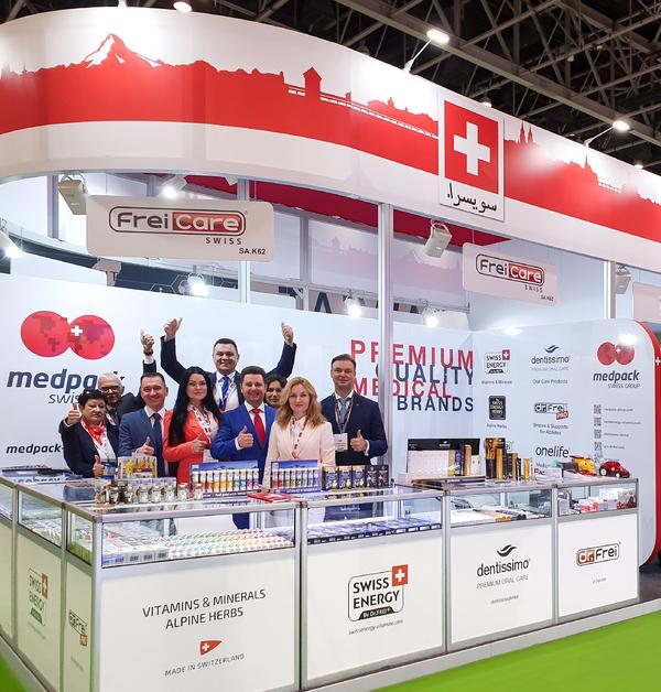 Swiss Energy at Arab Health 2020