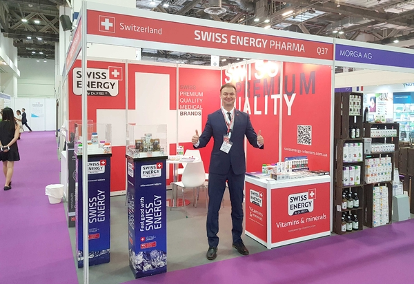 Swiss Energy at VitaFoods Asia 2019