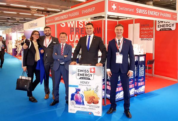 Swiss Energy at CPhI Worldwide 2019