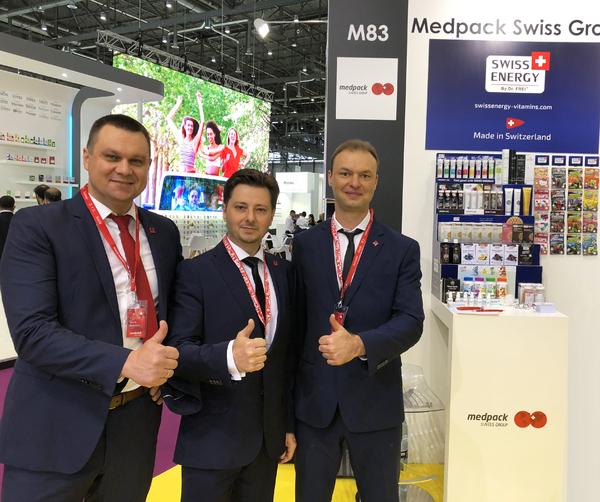 Swiss Energy at VitaFoods Europe 2018 in Geneva
