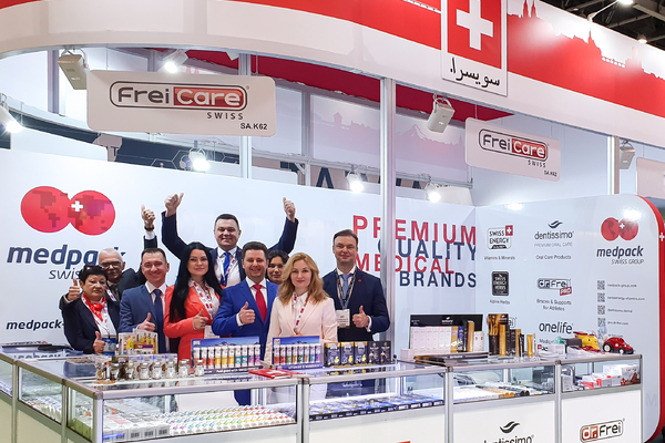 Swiss Energy на Arab Health 2020