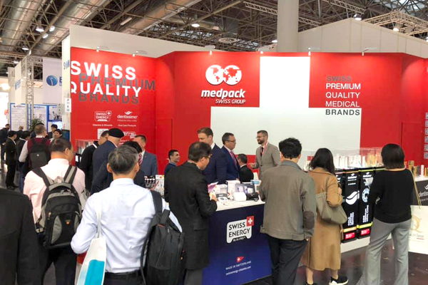 Swiss Energy at MEDICA 2019, Düsseldorf, Germany