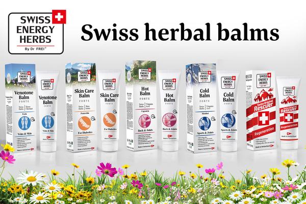 Swiss Energy Herbs! From the heart of Switzerland!