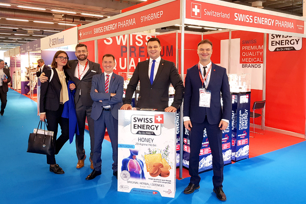 Swiss Energy на CPhI Worldwide 2019