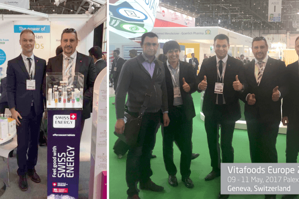 Feel Good with Swiss Energy at VitaFoods Europe 2017, Geneva