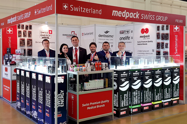Medpack Swiss Group at Zdravookhranenie 2018
