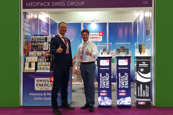 Swiss Energy at VitaFoods Asia 2018