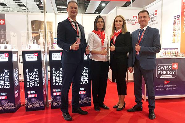 Brands Medpack Swiss Group at CPhI Worldwide 2018.