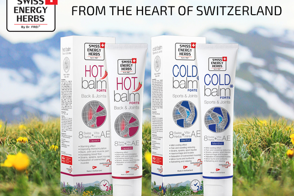 Swiss Energy Herbs® – the best from Switzerland!